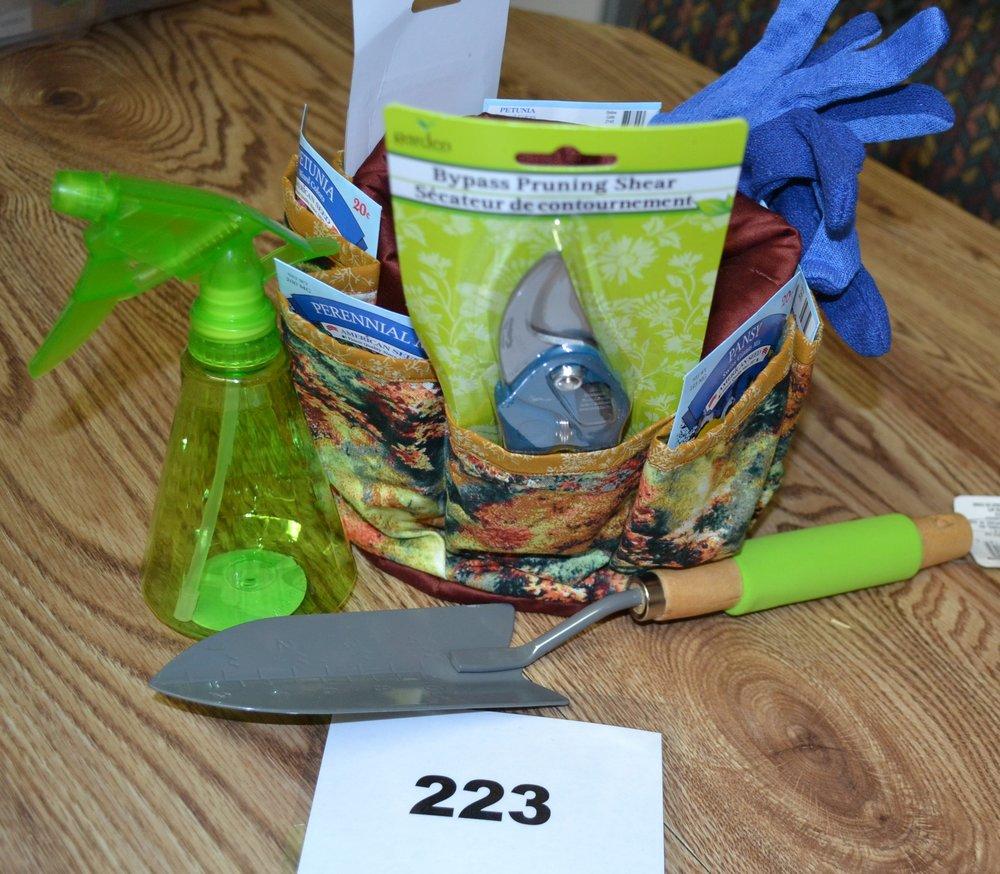 #223  Gardening organizer
