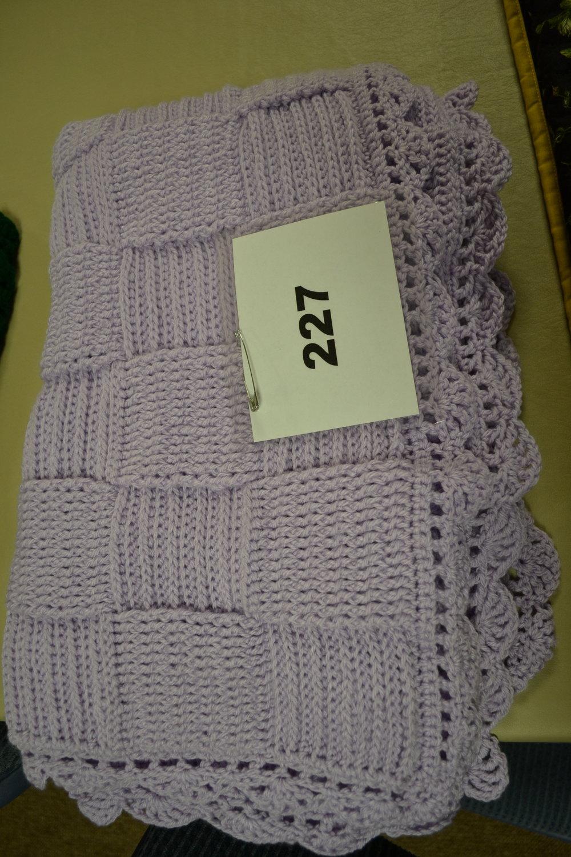 #227  Lavender blanket