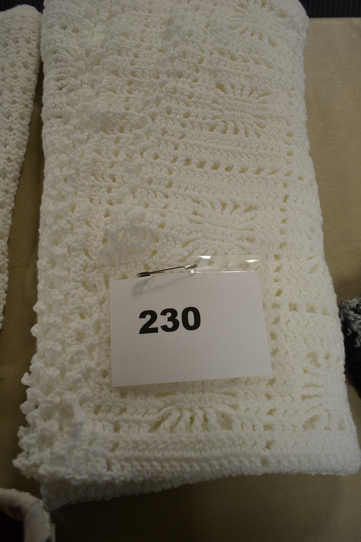 #230  Crocheted blanket