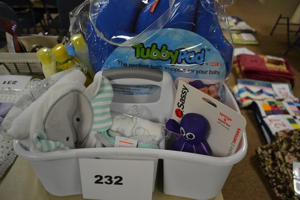 #232  Baby Bath Basket