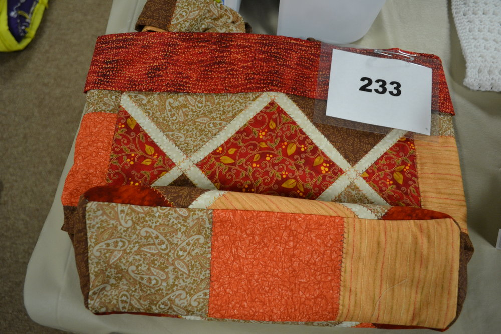 #233  Quilted Bag