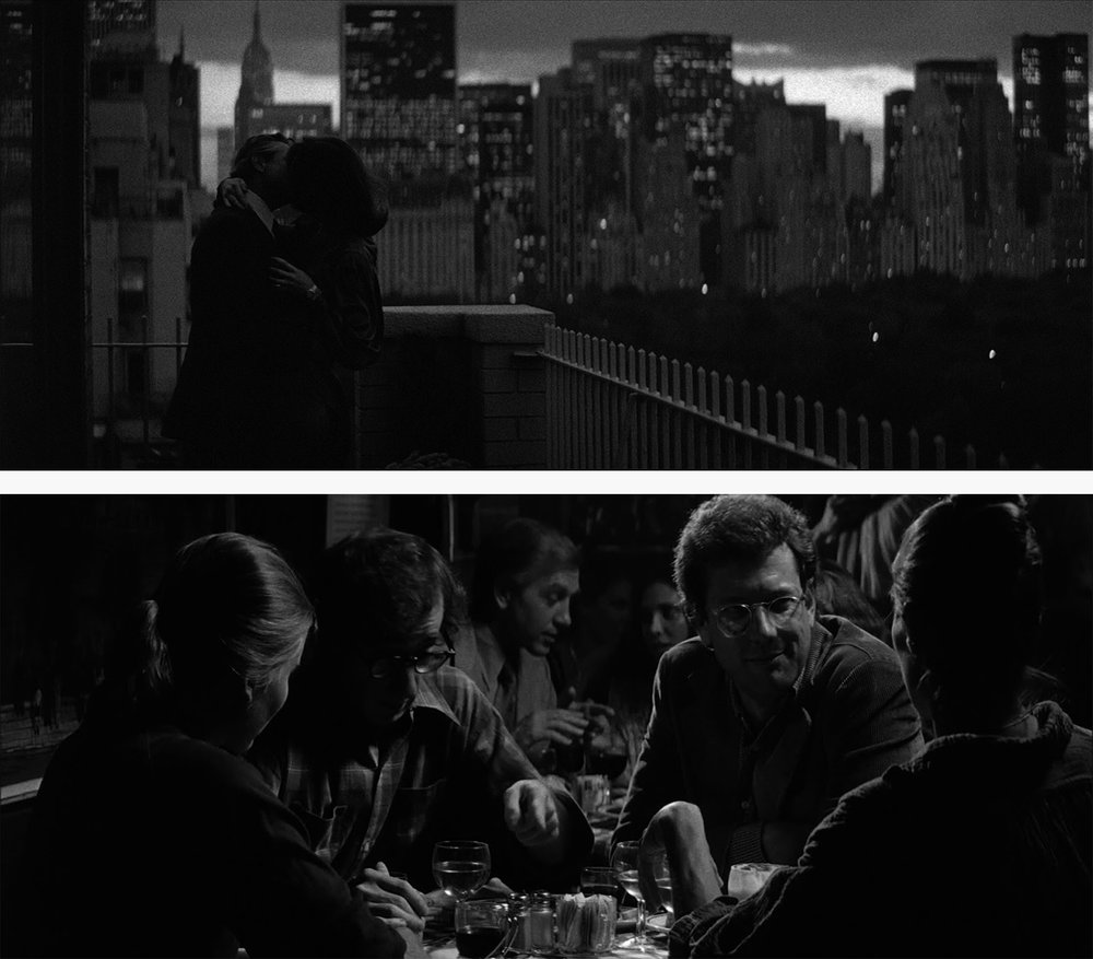 Gordon Willis — Stills from  Manhattan