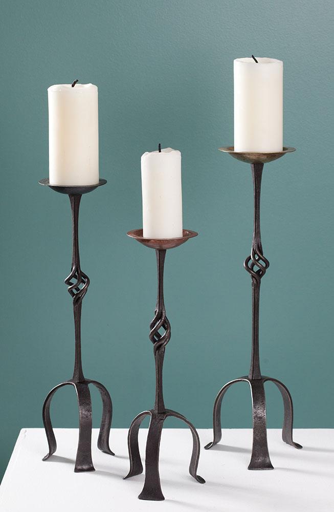 Pillar Candleholders