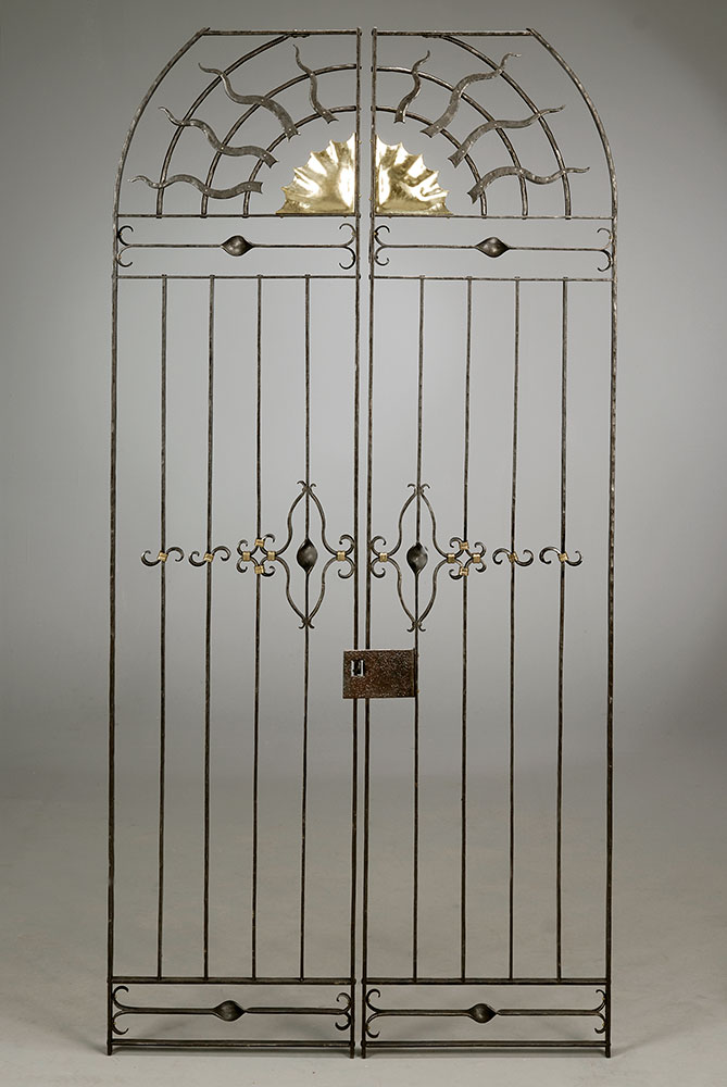 Wine Cellar Gates for Mr. Bodi