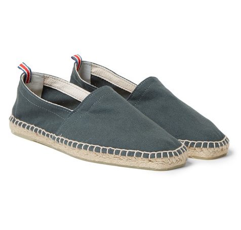 Pablo-washed canvas espadrilles by Castaner