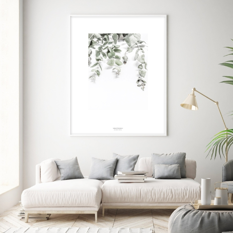 Eyeing this  Eucalyptus Art Print  for the nursery.