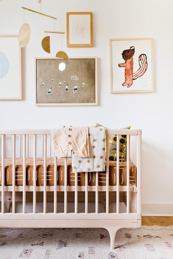 This  organic modern nursery  is on my planning board for Lyla's room in the new house.