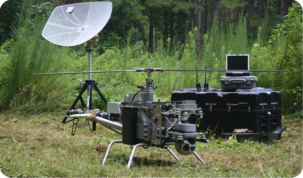 beyond line of sight (bvlos) unmanned helicopter drone UAS