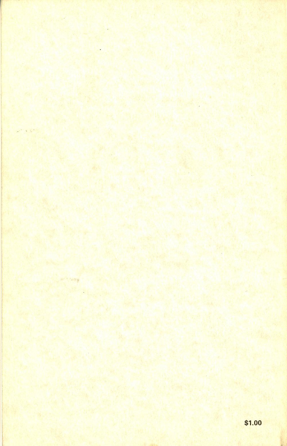 Volume VI, Back (1978)