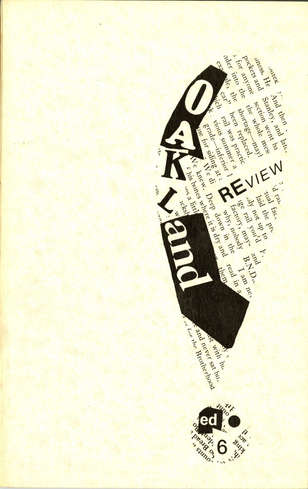 Volume VI, Front (1978)