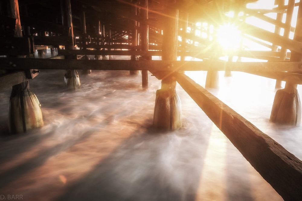 Pacific Beach, Ca. (Crystal Pier)