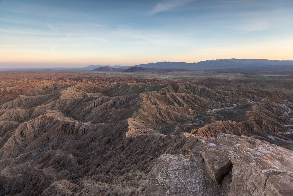 Fonts Point (Borrego Springs, Ca.)