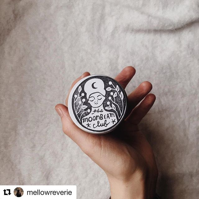 """i usually really struggle with my skin in the cold, so the other day i splurged on this multipurpose moisturiser from the @moonbeamclub as a winter vac treat (lol). even tho i was originally drawn in by the pretty packaging, i'm genuinely in love & i'm super glad i found it 🌙🌟"" Thanks so much for your warm words and this gorgeous pic, @mellowreverie ✨  ALSO! I took a little break from making #moonbeamcream after Christmas (THANK YOU for all your festive orders btw), but I made a big ol batch today and it's back in stock on @etsyuk and my website! So deeply grateful for your patience, sweet moonbeams 💗  #plasticfree #backinstock #noplastic #naturalbeauty #naturalskincare #zerowaste"