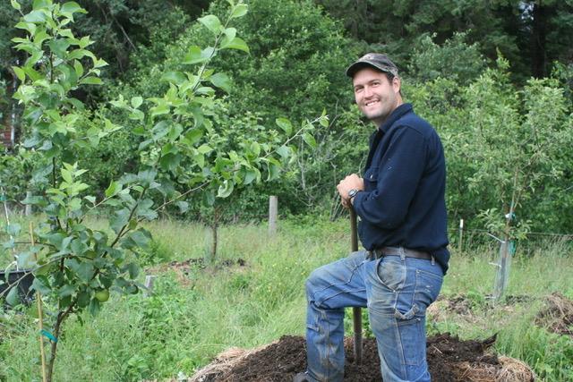 Rob Bishop of Game Creek Family Orchards - Hoonah, AK