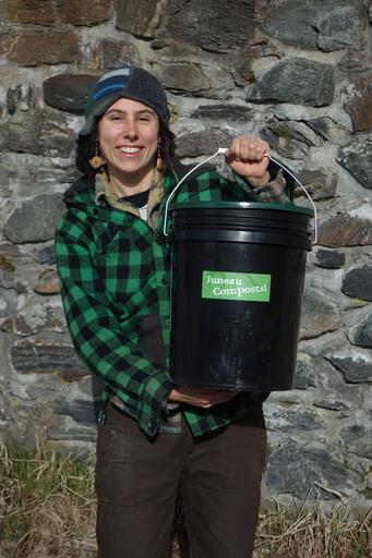 Lisa Daugherty of Juneau Compost