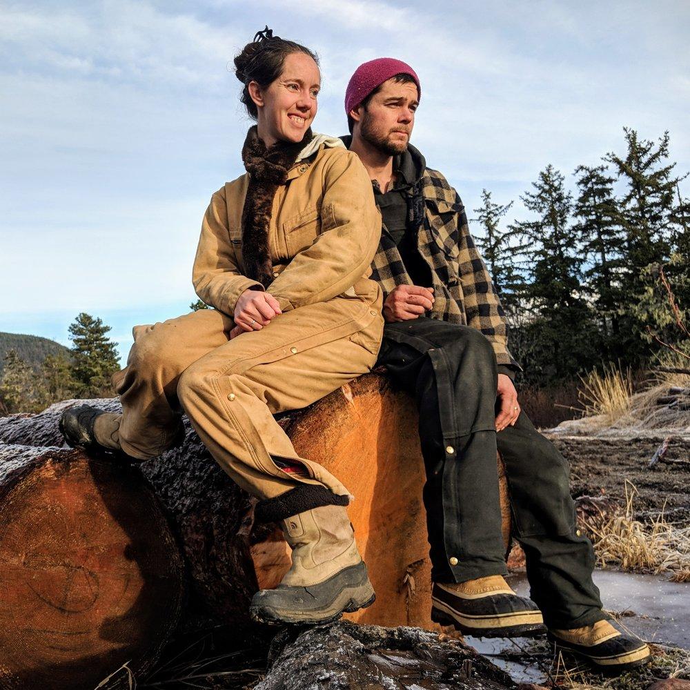Sylvia Heinz Bieberich and Chad Bieberich of Mud Bay Lumber Company