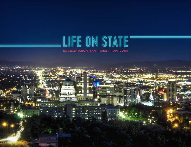 The draft 2018 Life on State Implementation Plan is ready for your review and comment. Tell us if we met your vision for State Street.