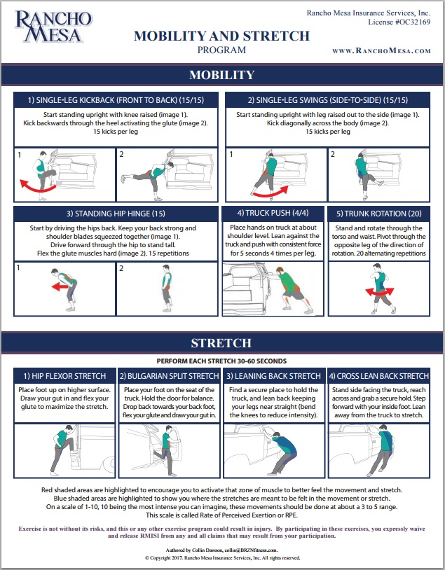 Mobility & Stretch Program -
