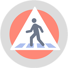 Behavior-Based Safety (BBS) Track Icon