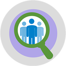 HR & Benefits Library Icon