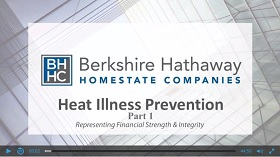 Heat Illness Prevention Presentation Title Slide Part 1 Video Still