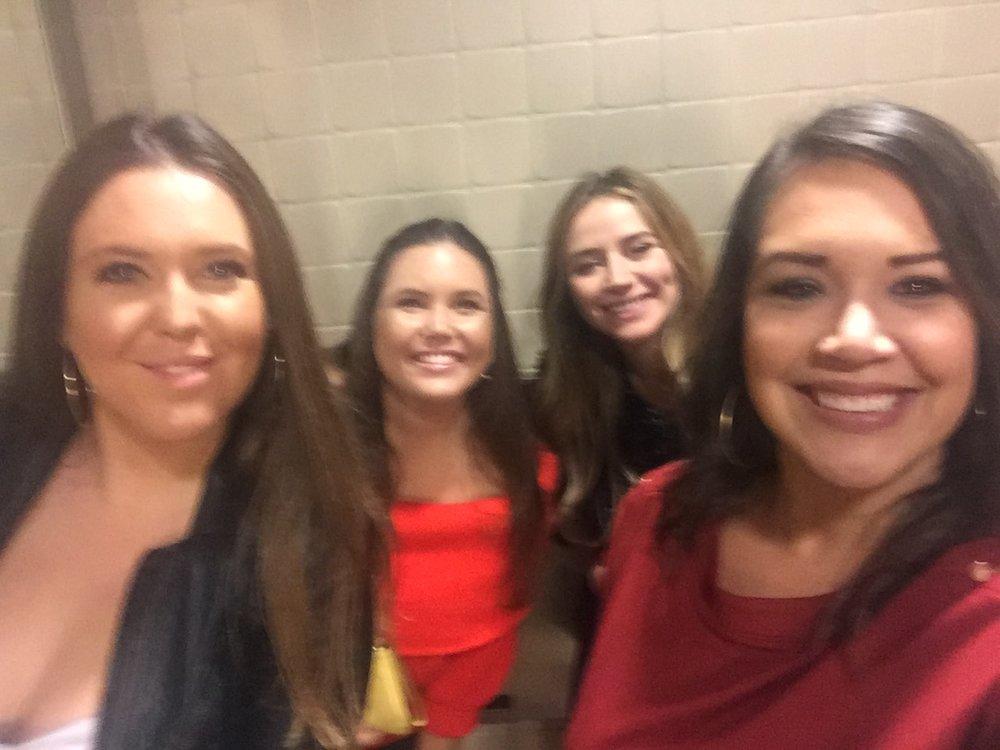 Whitney, Breanne, Lauren and Ashley