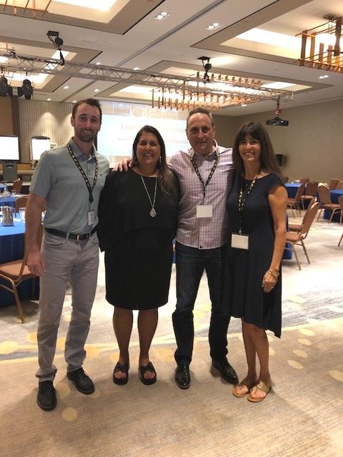 Drew Garcia, a women, Dave Garcia and Margaret Hartmann