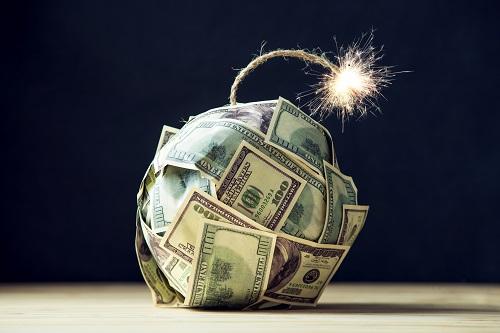 Bomb made of money