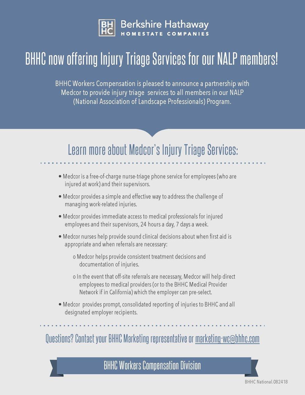 Injury Triage Services