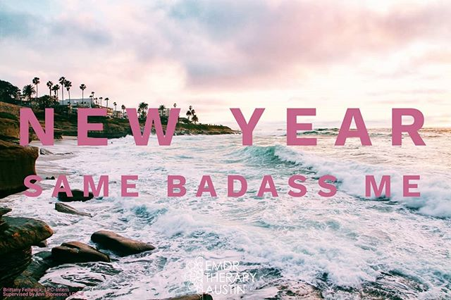 Motto for 2018: New Year, Same Badass Me! My resolution for that past few years has been to travel more. So, in keeping with that spirit, I'm starting 2018 with my next trip. Goodbye Texas and 2017. ✌🏽 I'll be back in the office on Monday, January 8. In the event of an emergency, please don't wait for help! Austin crisis hotline is 512.472.4357.