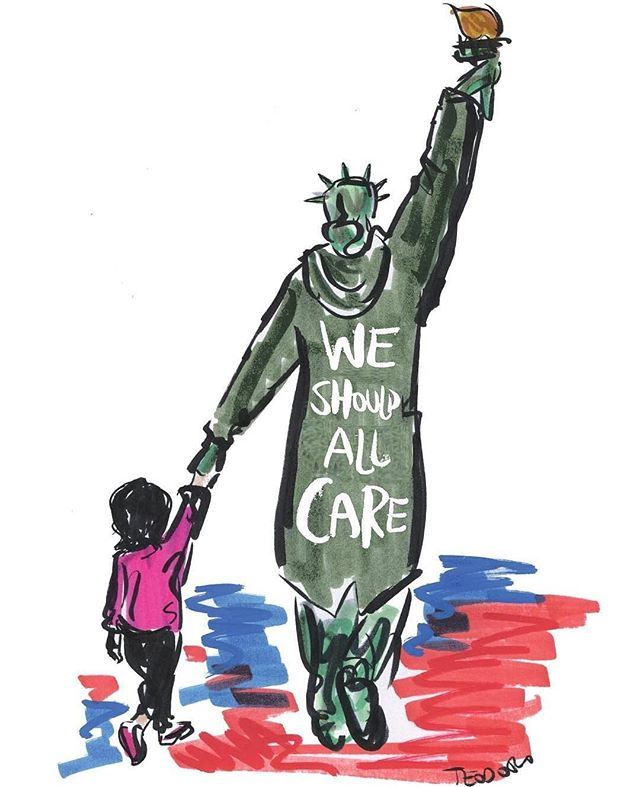 We should all care. . . . . 🎨: @justinteodoro