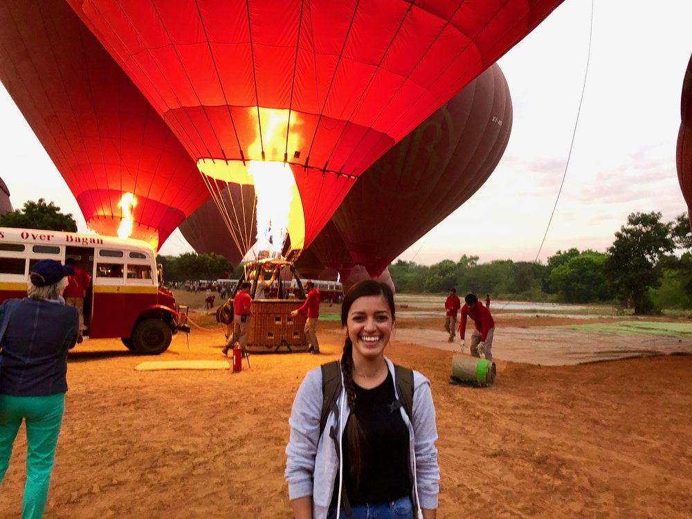 So much depends upon a red hot air balloon
