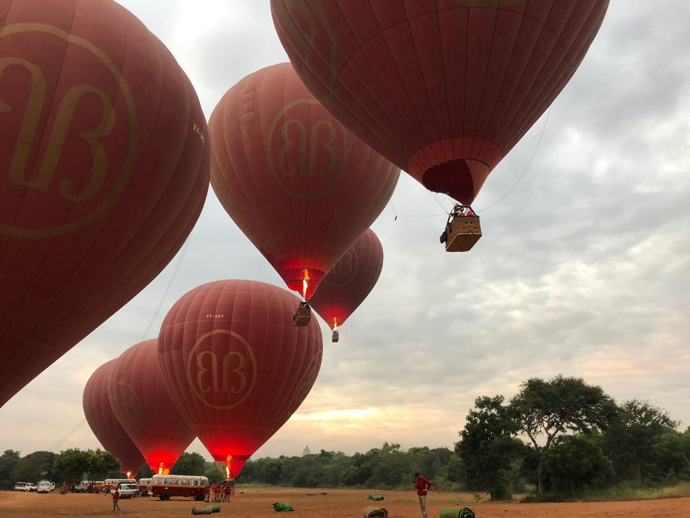 Bagan, we have lift off