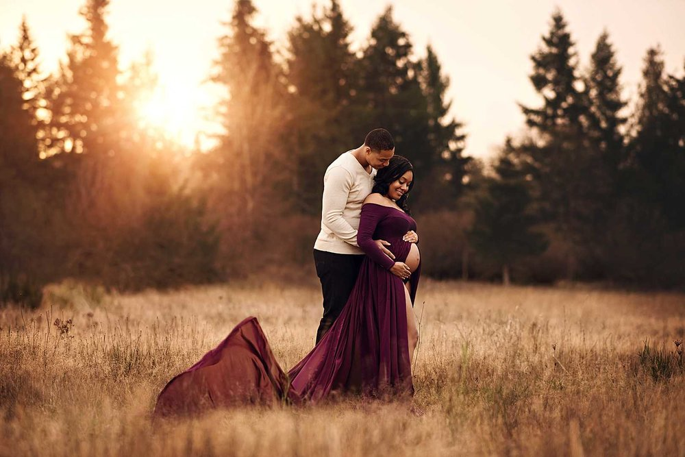 JBLM Maternity Portrait Photographer |  Stephanie Ratto Photography