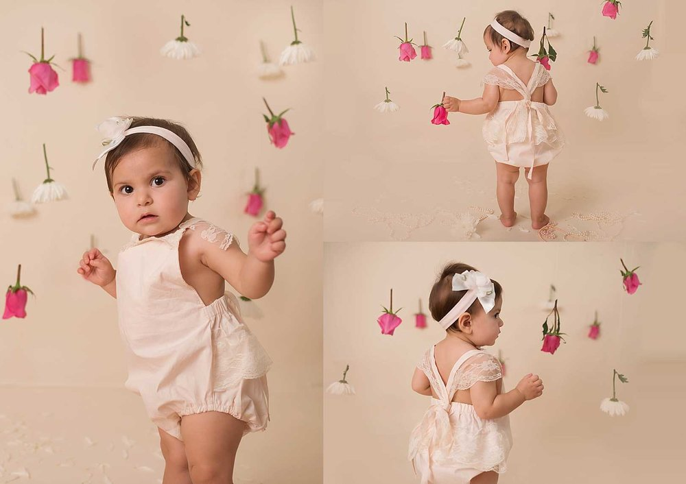 Puyallup's Professional Photographer | Amaya's Cake Smash Session