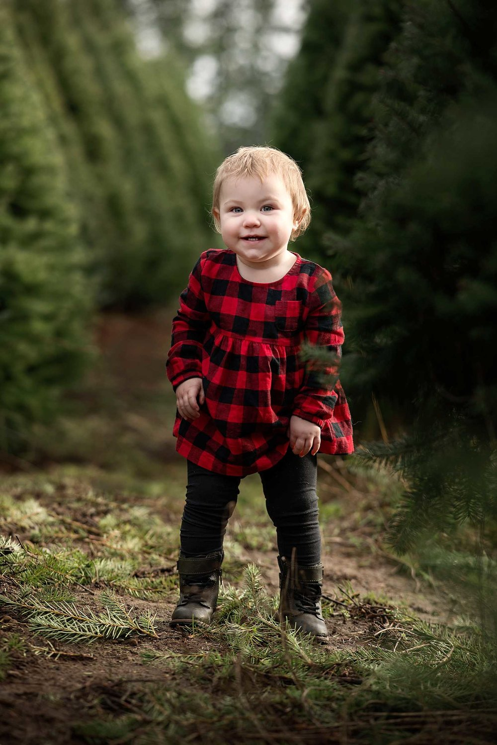 Christmas Mini Session | Puyallup Family Photographer