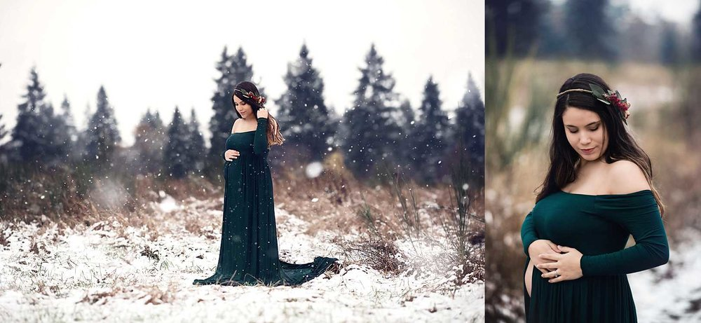 December Mom of the Month | Puyallup Maternity Photographer