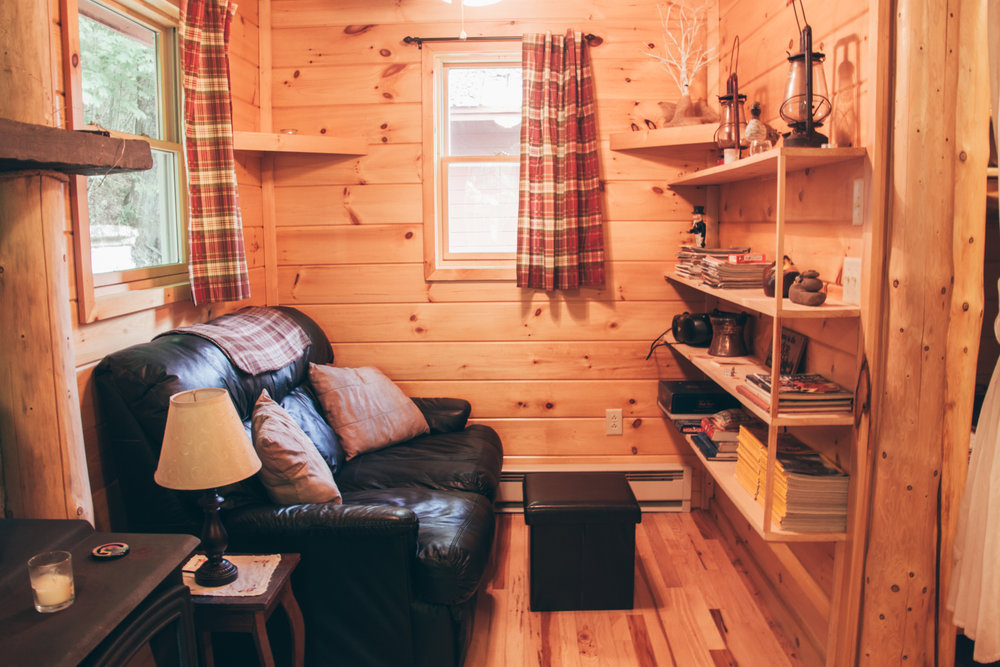 Come relax in your very own private cabin getaway in Upstate NY.