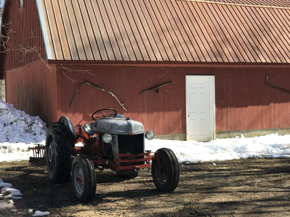 Antique Ford Tractor at Wellnesste Lodge in Central New York near Syracuse.jpeg