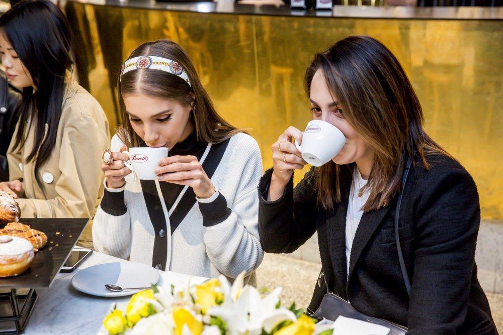 Alexia Petsinis_Carissa Smart at Brunetti X Lavazza International Coffee Day1 copy.jpg