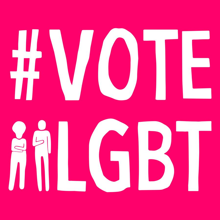 Vote LGBT - Coletivo que busca aumentar a representatividade de travestis, transexuais, lésbicas, bissexuais e gays na política institucional brasileira.