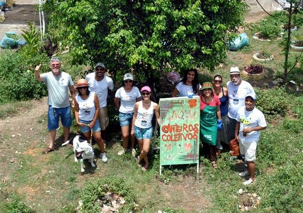 Canteiros Coletivos   recuperando mais um espaço público em Salvador.