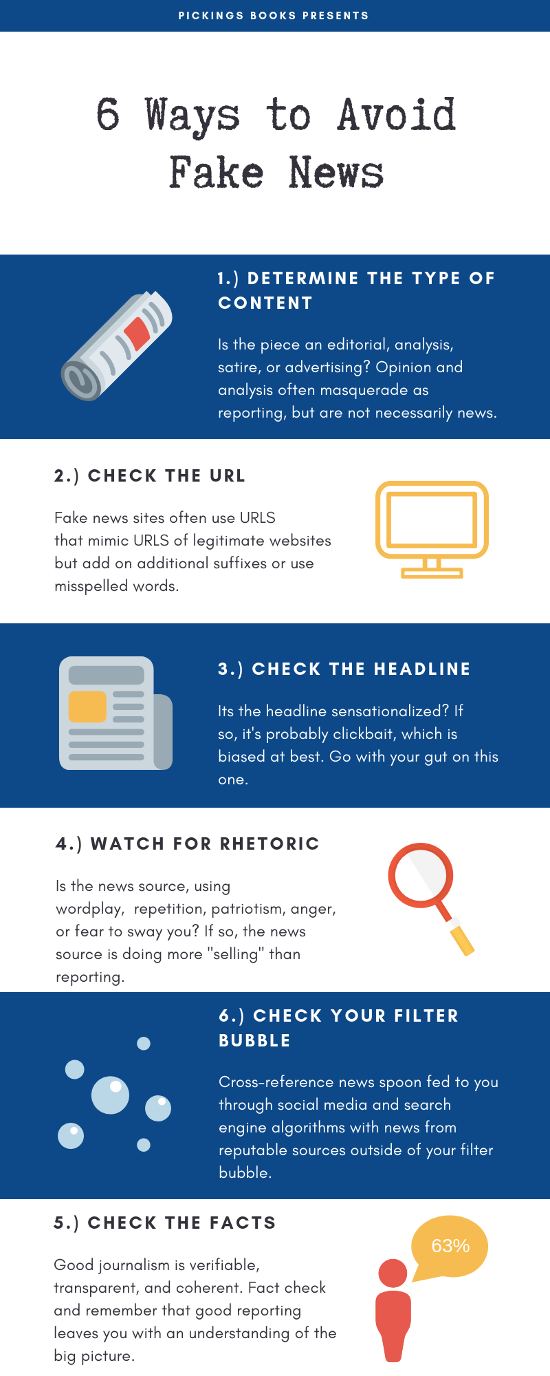 6 Ways to Avoid Fake News