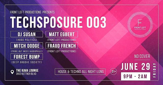 This Friday join @mitchdodge for proper #housemusic and #techno at @kavalounge