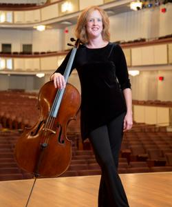 Rachel Young, cello