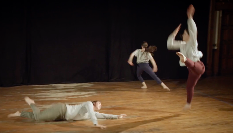 SharedSpaceat Mark Morris Dance Center - March 2, 20182+2+2BY KATIE SKINNERIN COLLABORATION WITH DANCERS: GENNA MATTANA, LIBBY WOLF, LÉLA GROOMMARK MORRIS DANCE CENTER3 LAFAYETTE AVENUE