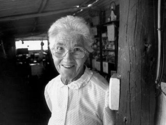 Molly Clark, founder of the National Pioneer Women's Hall of Fame Image courtesy of Barry Skipsey