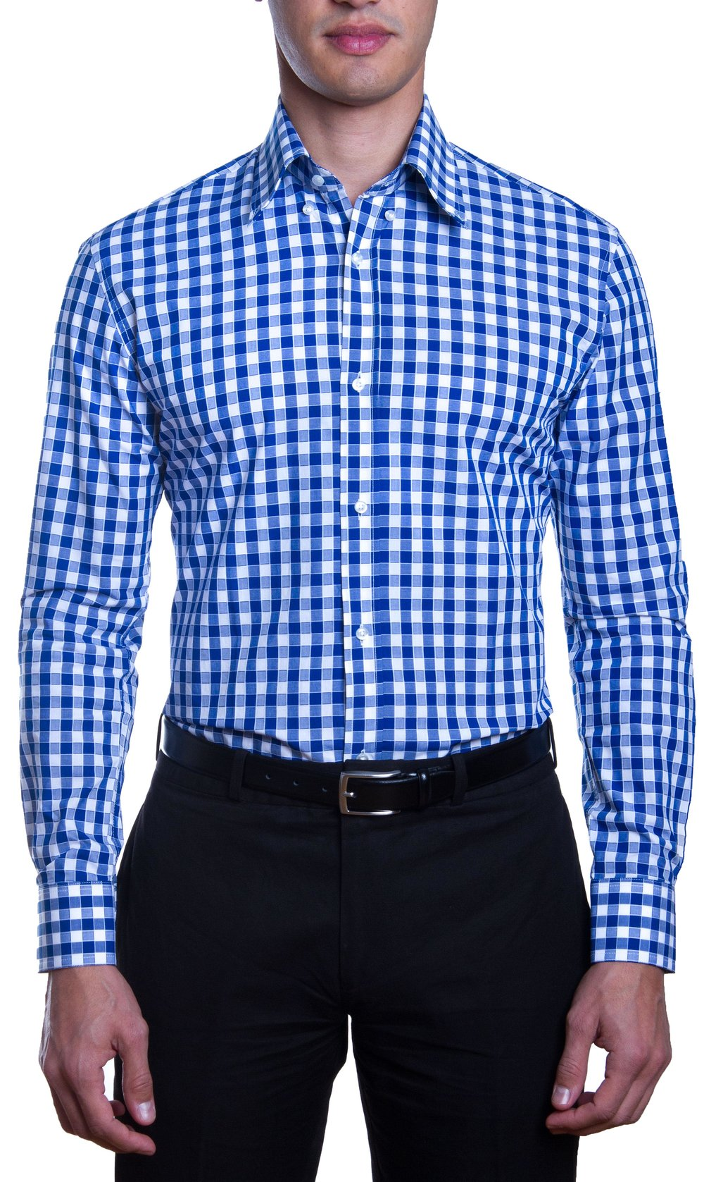 Classic Blue and White Gingham