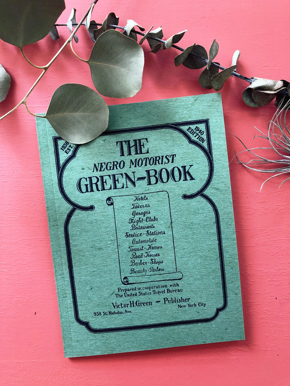 "The   Green Book   was the quintessential guide for African Americans traveling the road in the early 21st century, offering resources ""to give the Negro traveler information that will keep him from running into difficulties, embarrassments and to make his trip more enjoyable."" The book was created by Victor H. Green, a mailman-turned-publisher-turned-travel-agent who sought to highlight  ""the growing affluence of African Americans."""