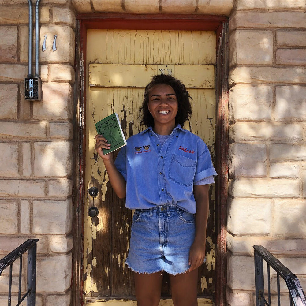 Morgan P. Vickers, recent college grad and current  National Trust for Historic Preservation  intern, visits  historic Green Book sites  on Route 66.